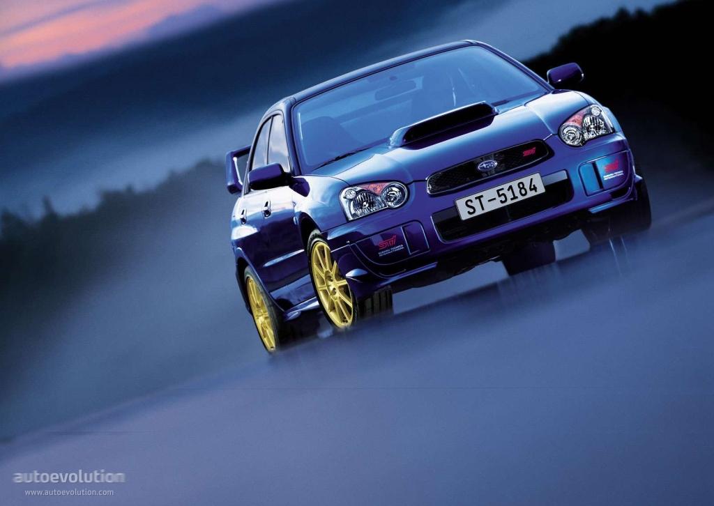 Subaru Impreza Wrx Sti 2003 2004 2005 Autoevolution