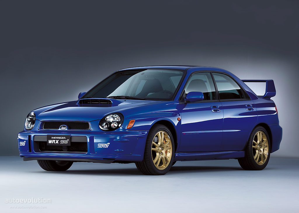 subaru impreza wrx sti specs photos 2001 2002 2003 autoevolution. Black Bedroom Furniture Sets. Home Design Ideas