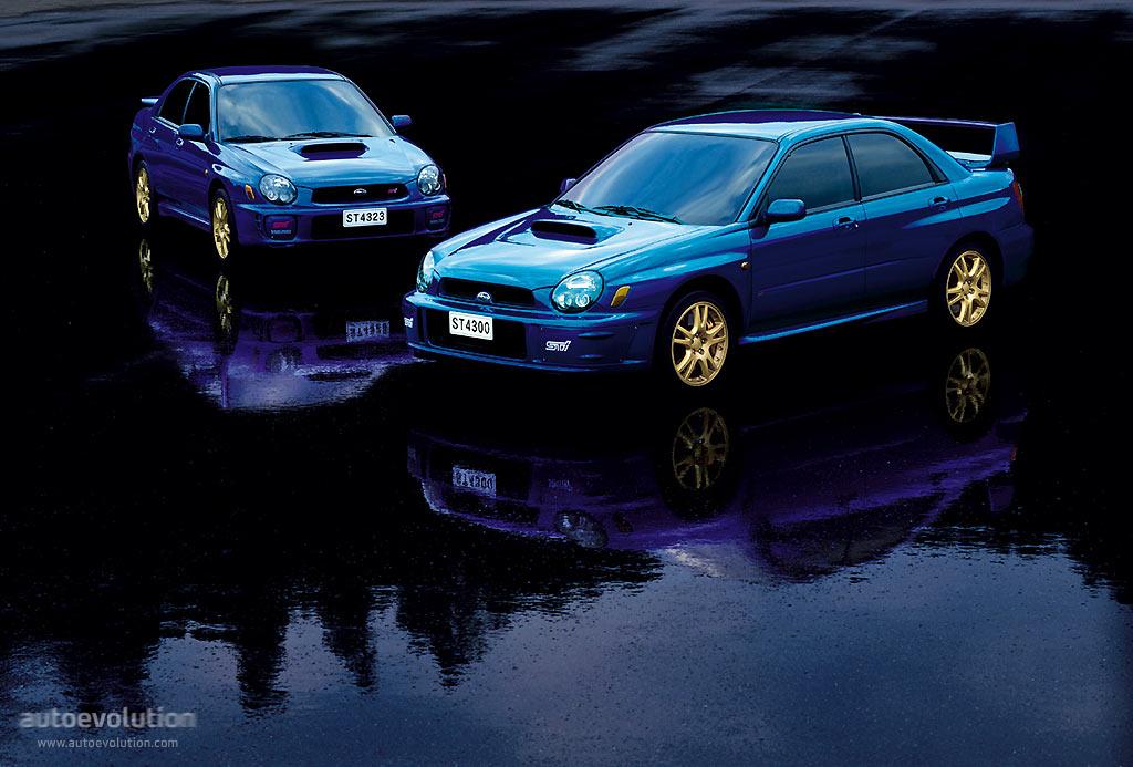 Subaru Impreza Wrx Sti 2001 2002 2003 Autoevolution