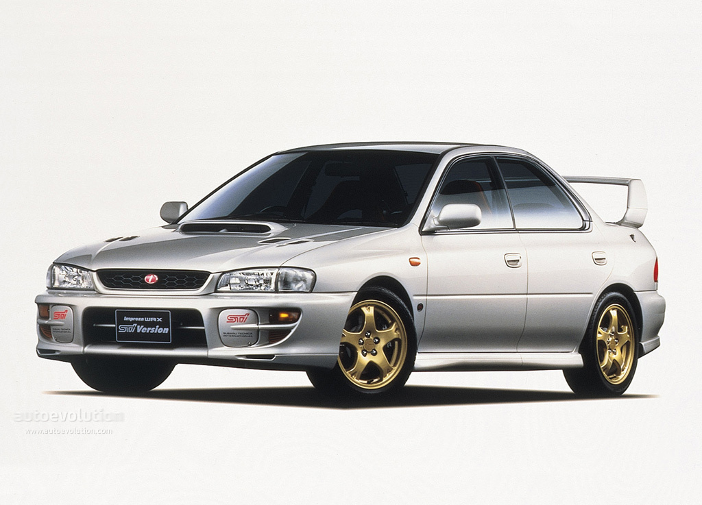 subaru impreza wrx sti specs 1998 1999 2000 autoevolution. Black Bedroom Furniture Sets. Home Design Ideas