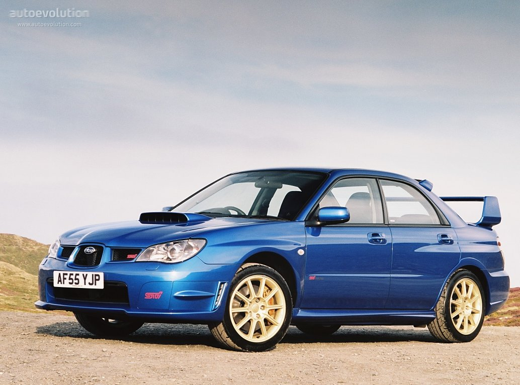subaru impreza wrx sti specs photos 2005 2006 2007. Black Bedroom Furniture Sets. Home Design Ideas