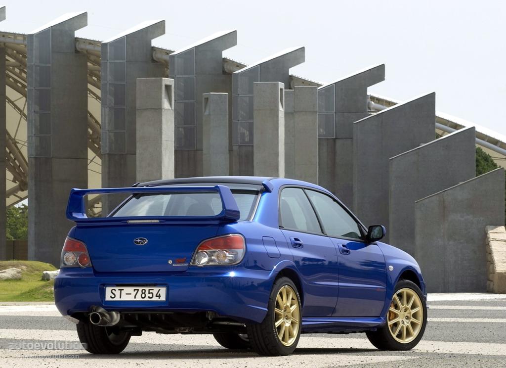 SUBARU Impreza WRX STi specs - 2005, 2006, 2007 - autoevolution