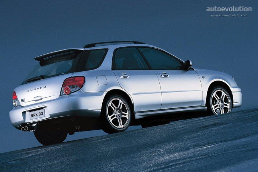Subaru Impreza Wagon 2003 2004 2005 Autoevolution