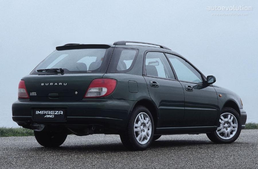 Subaru Impreza Wagon 2000 2001 2002 2003 Autoevolution