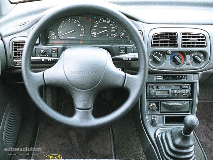Subaru Impreza Wagon Specs 1993 1994 1995 1996 1997
