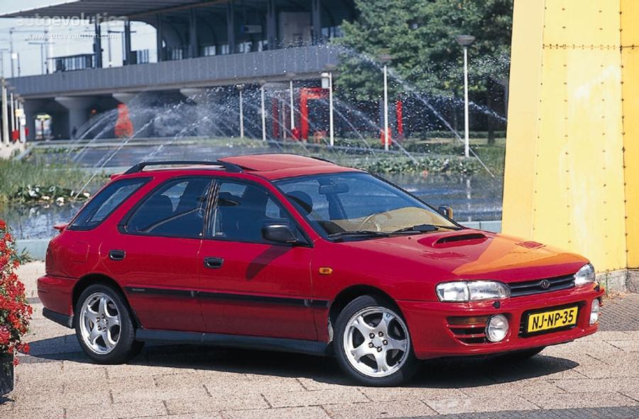 Subaru Impreza Wagon 1993 1994 1995 1996 1997 1998
