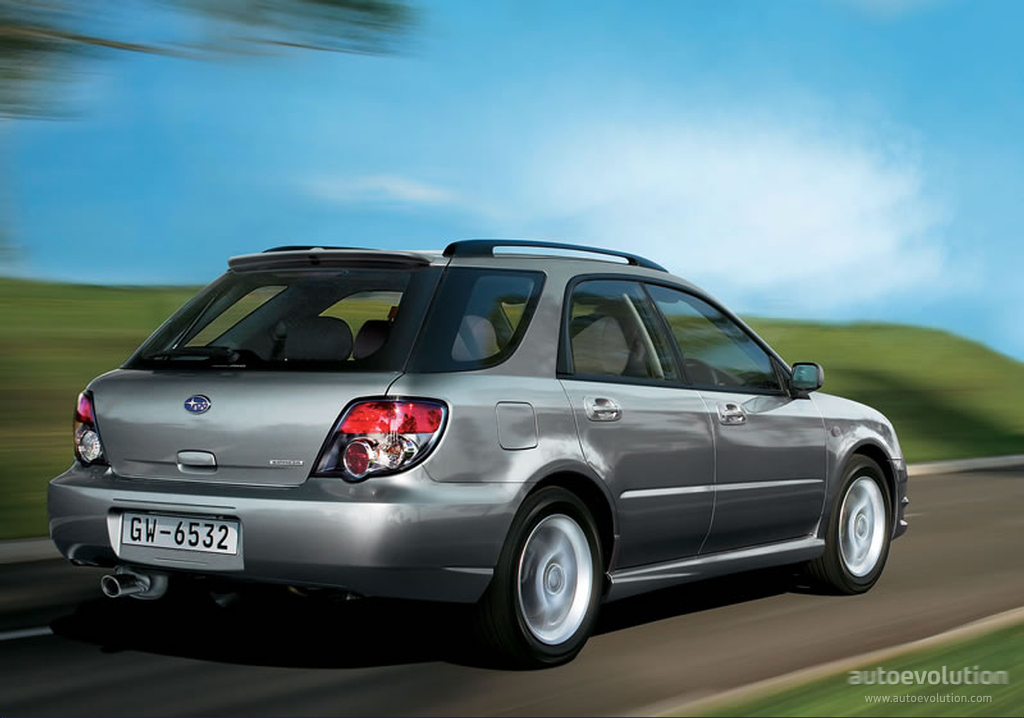 subaru impreza wagon specs 2005 2006 2007 autoevolution. Black Bedroom Furniture Sets. Home Design Ideas