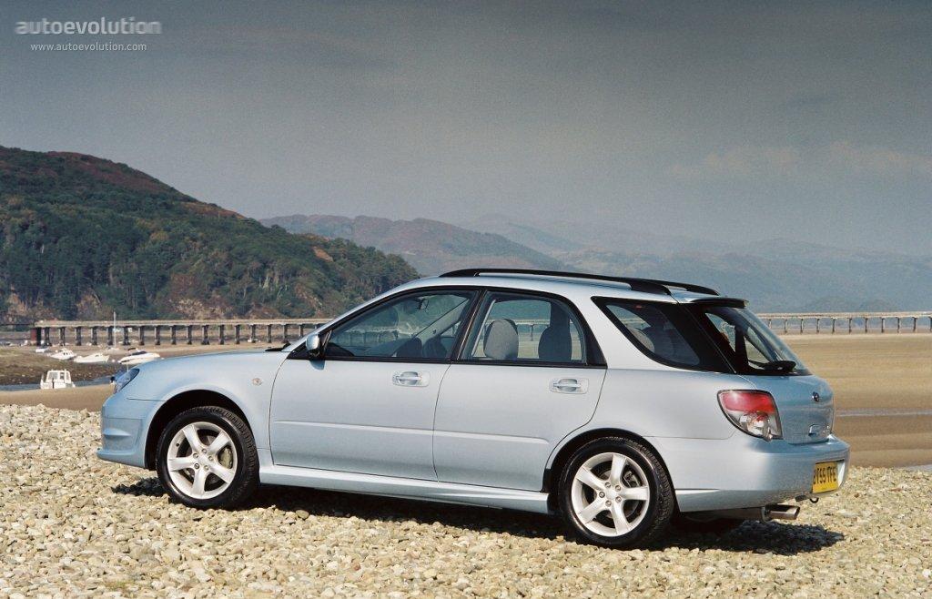 Subaru Impreza Wagon 2005 2006 2007 Autoevolution