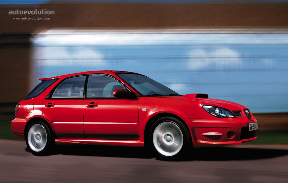 2006 Subaru Wrx Sti >> SUBARU Impreza Wagon specs - 2005, 2006, 2007 - autoevolution
