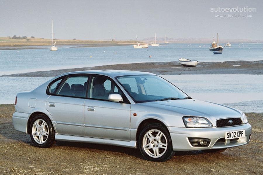 SUBARU Legacy specs - 2002, 2003 - autoevolution