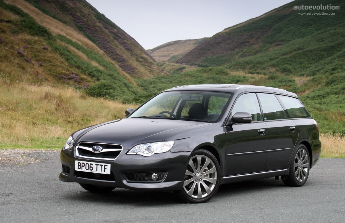 SUBARU Legacy Wagon specs & photos - 2006, 2007, 2008 ...