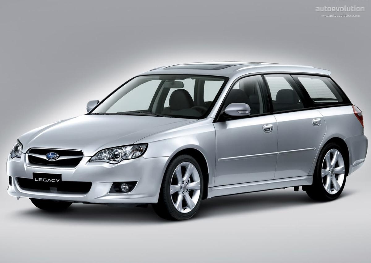 subaru legacy wagon 2006 2007 2008 autoevolution. Black Bedroom Furniture Sets. Home Design Ideas