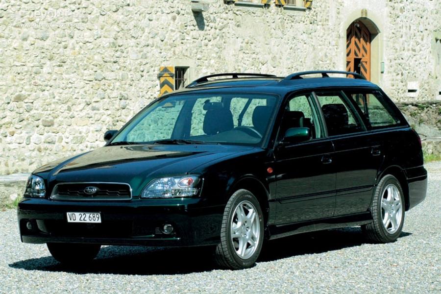 Subaru Boxer Engine >> SUBARU Legacy Wagon specs & photos - 2002, 2003 - autoevolution