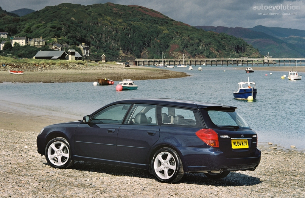 SUBARU Legacy Wagon specs & photos - 2003, 2004, 2005 ...