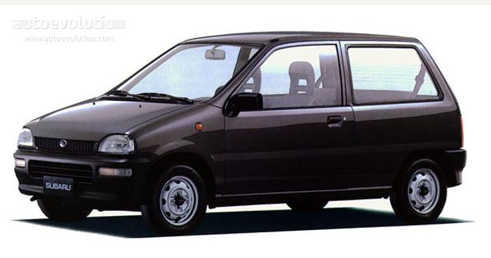 SUBARU Mini Jumbo 3 doors 1988 - 1991