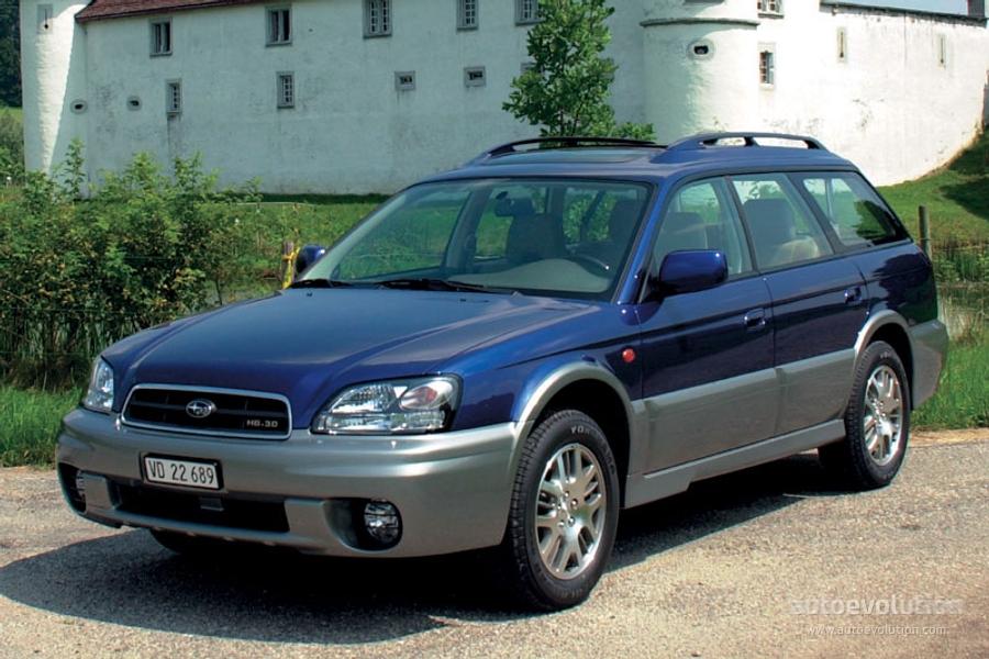 Subaru Outback Lift Kit >> SUBARU Outback - 2002, 2003 - autoevolution