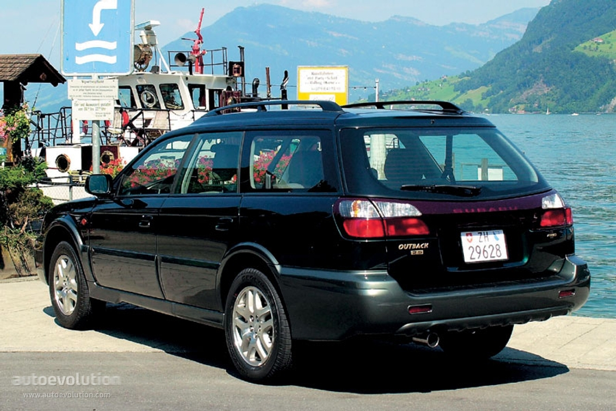 Once Driven Reviews >> SUBARU Outback - 2002, 2003 - autoevolution