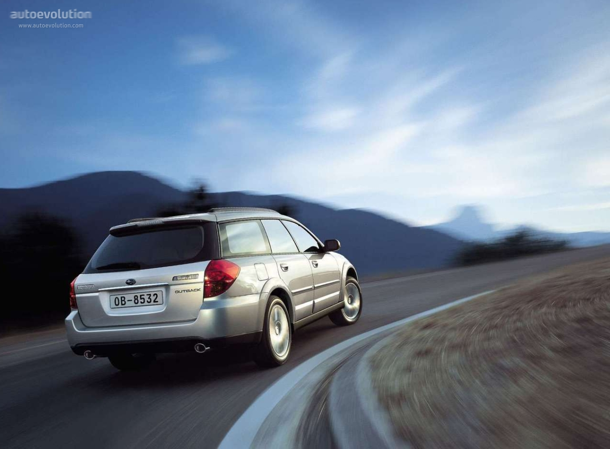 SUBARU Outback specs & photos - 2003, 2004, 2005, 2006 ...