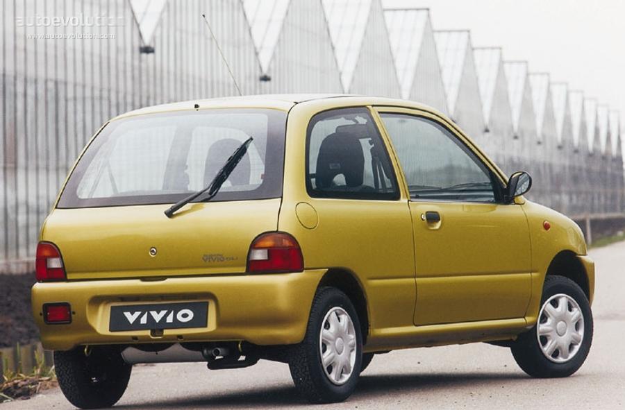 Subaru Vivio 3 Doors Specs Amp Photos 1992 1993 1994