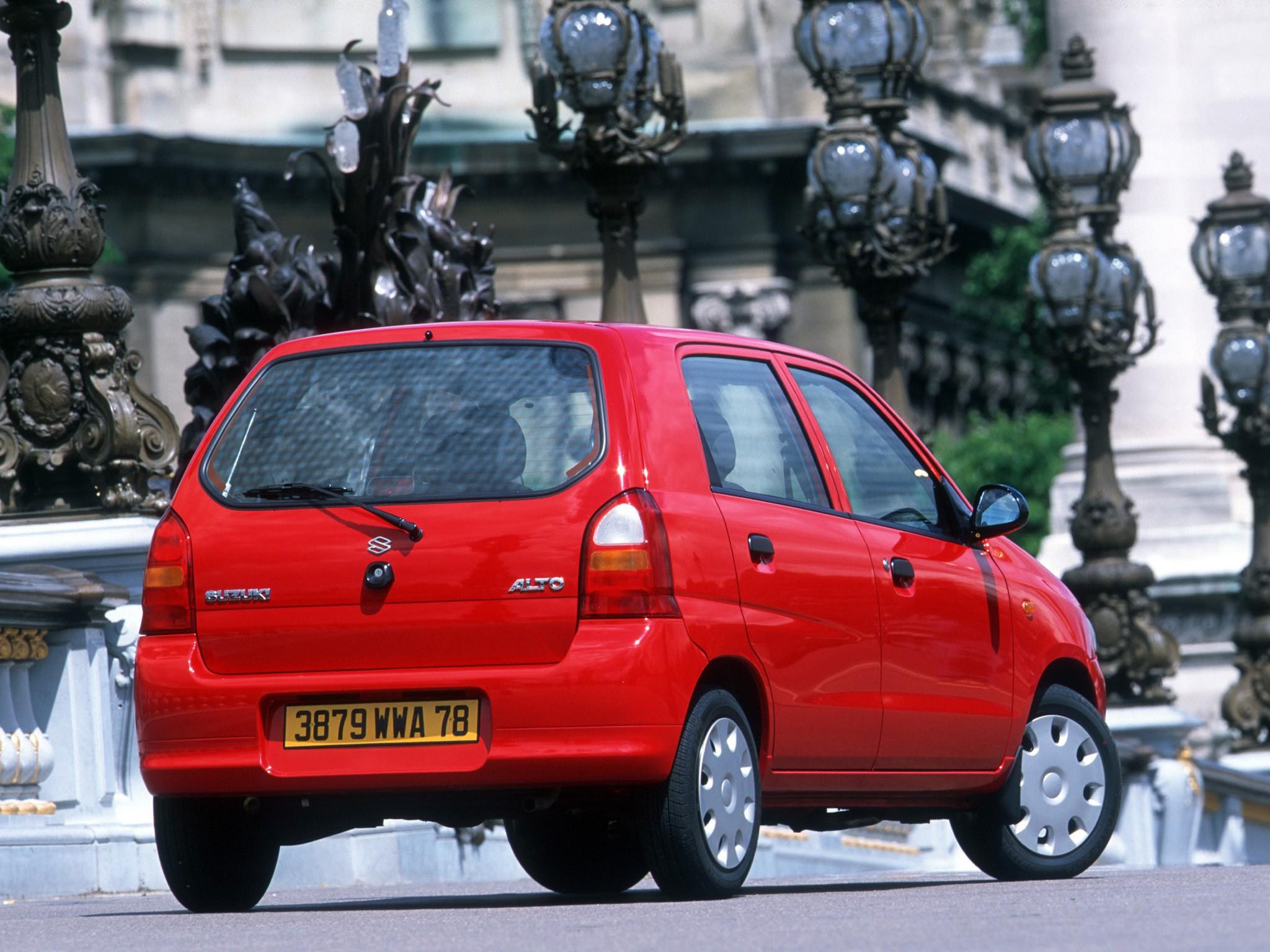 SUZUKI Alto - 2002, 2003, 2004, 2005, 2006 - autoevolution