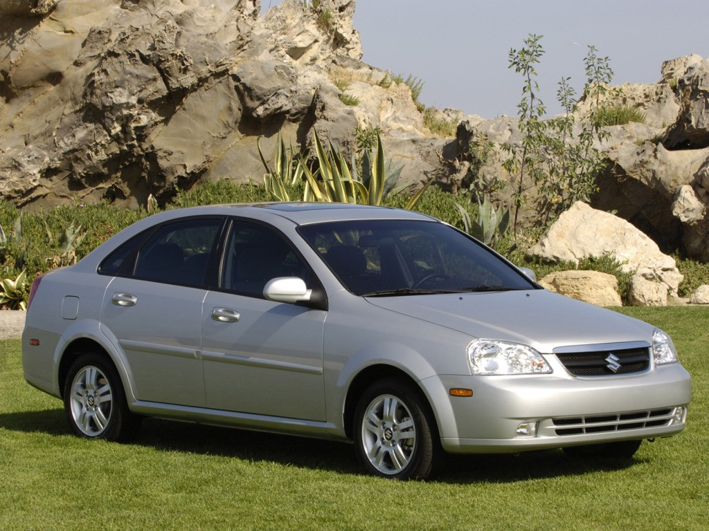 ... SUZUKI Forenza Sedan (2004 - 2008) ...