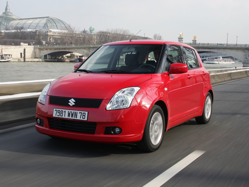 suzuki swift 5 doors specs photos 2005 2006 2007 2008 2009 autoevolution. Black Bedroom Furniture Sets. Home Design Ideas