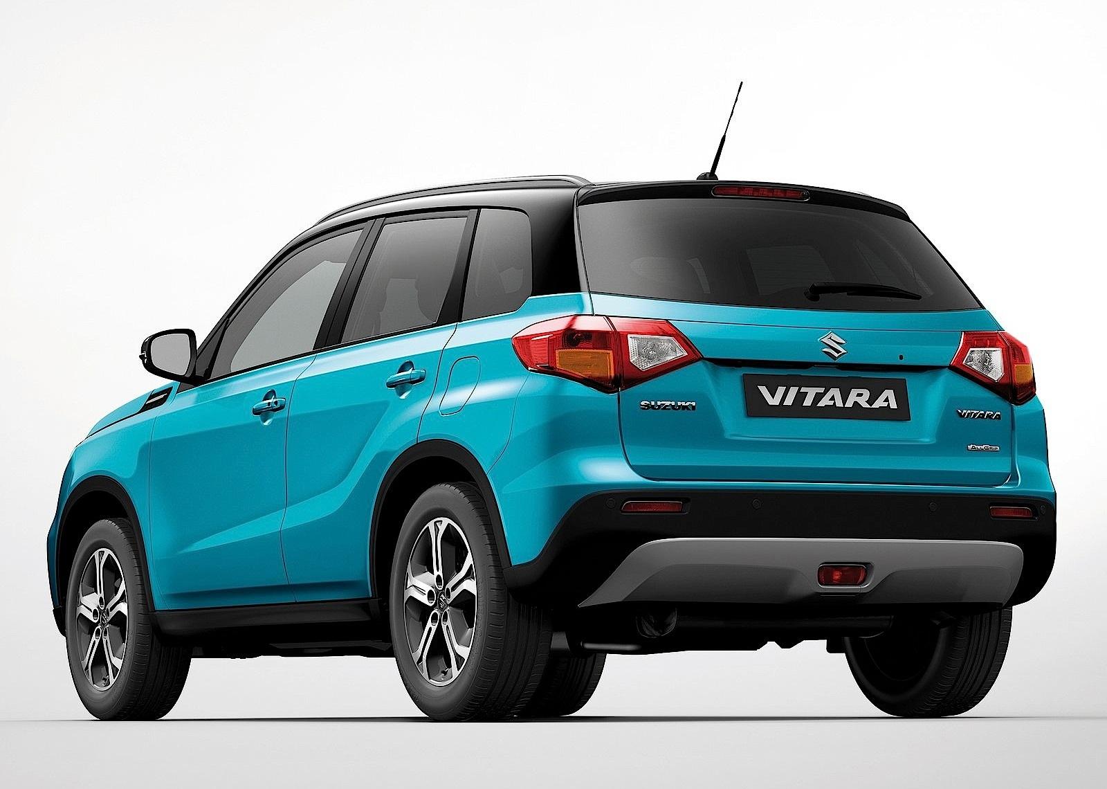 Suzuki Vitara 2014 2015 2016 2017 Autoevolution