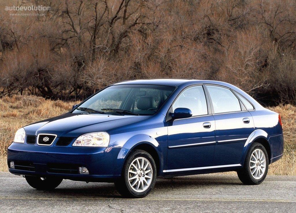 Suzuki Forenza Sedan Specs 2004 2005 2006 2007 2008