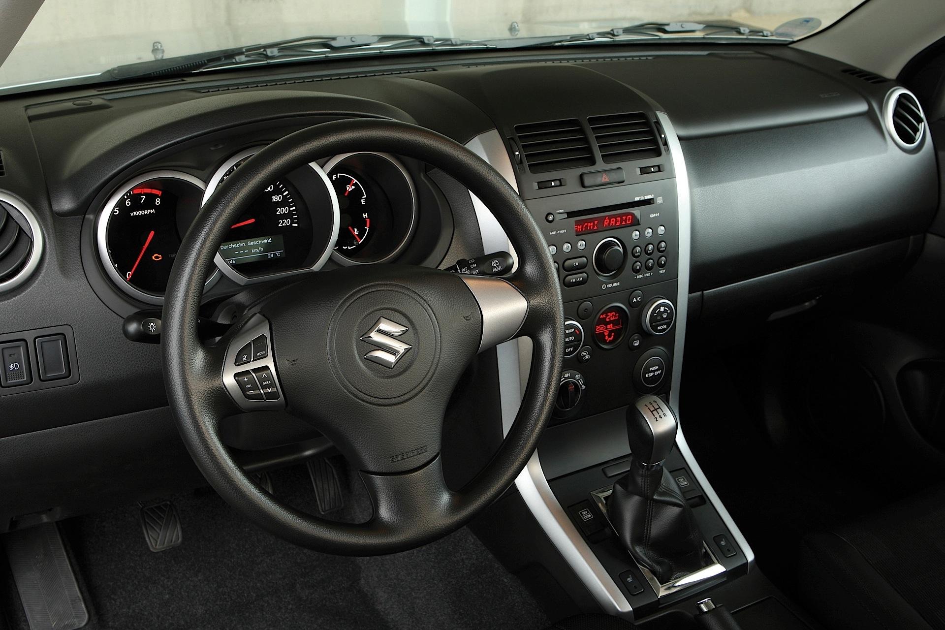 Suzuki Grand Vitara 3 Doors 2008 2009 2010 2011 2012 2013 2014 2015 2016 2017