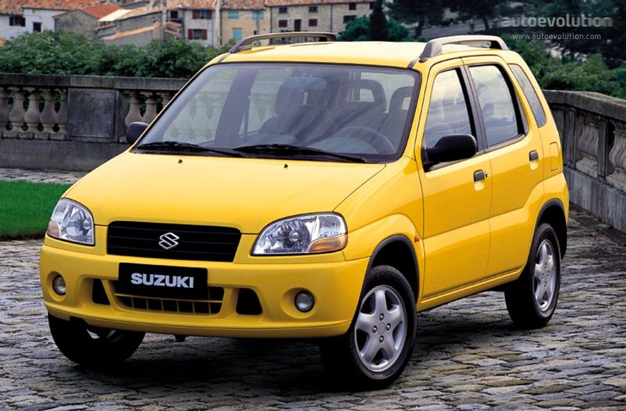SUZUKI Ignis 5 Doors - 2000, 2001, 2002, 2003 - autoevolution