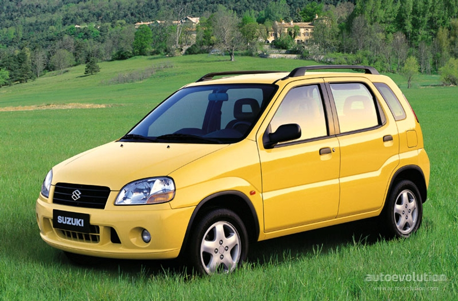 suzuki ignis 5 doors specs photos 2000 2001 2002 2003 autoevolution. Black Bedroom Furniture Sets. Home Design Ideas