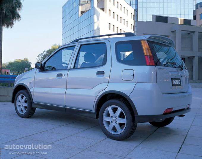 Suzuki Ignis 2003 2004 2005 2006 2007 2008 Autoevolution