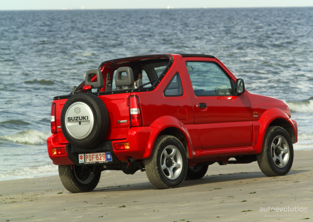 suzuki jimny cabriolet specs 2005 2006 2007 2008. Black Bedroom Furniture Sets. Home Design Ideas