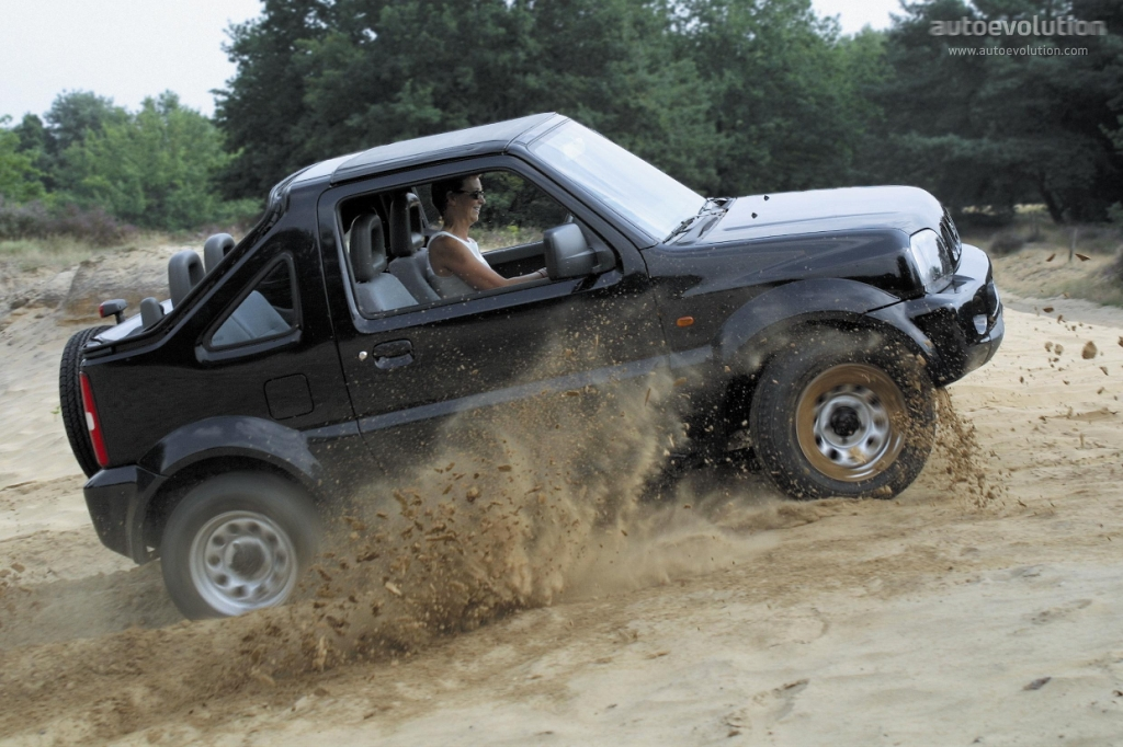 SUZUKI Jimny Cabriolet specs & photos - 2005, 2006, 2007, 2008, 2009, 2010, 2011 - autoevolution