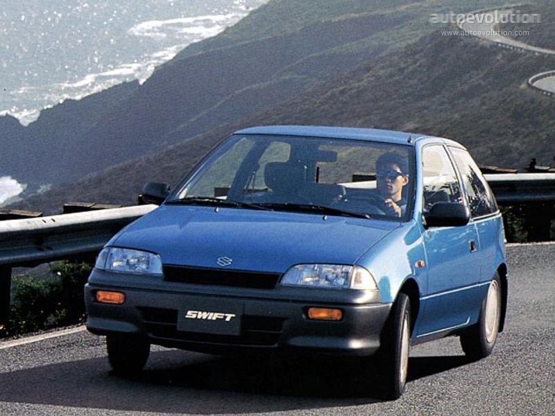 Suzuki Swift 3 Doors Specs 1991 1992 1993 1994 1995