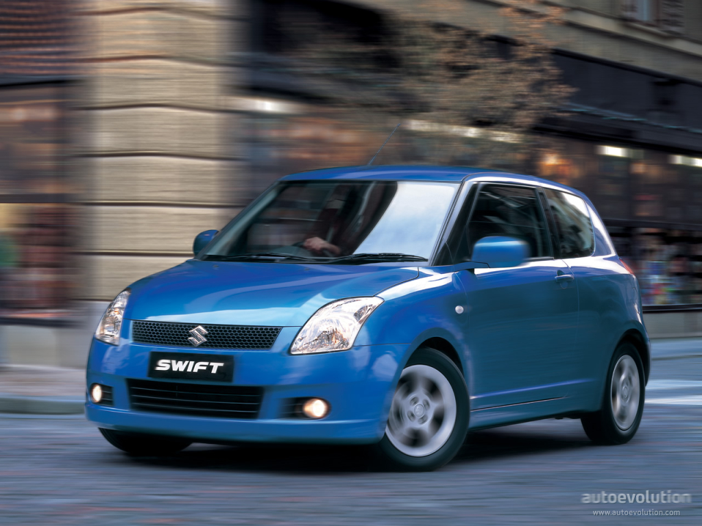 SUZUKI Swift 3 Doors specs - 2005, 2006, 2007, 2008, 2009 ...
