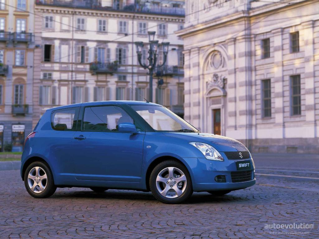 Suzuki Swift 3 Doors 2005 2006 2007 2008 2009