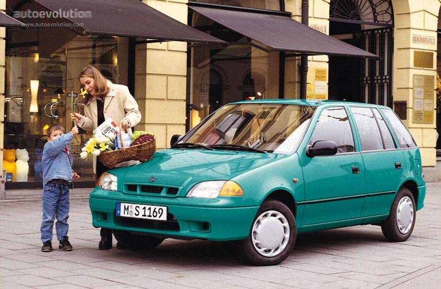 suzuki swift 5 doors specs 1996 1997 1998 1999 2000 2001 rh autoevolution com 2002 Suzuki Swift 2001 suzuki swift manual transmission fluid