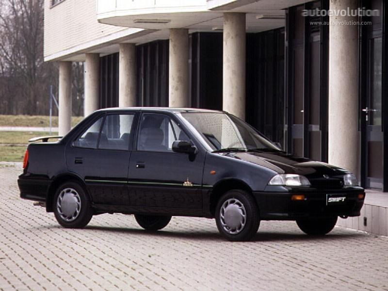 SUZUKI Swift Sedan specs & photos - 1991, 1992, 1993, 1994