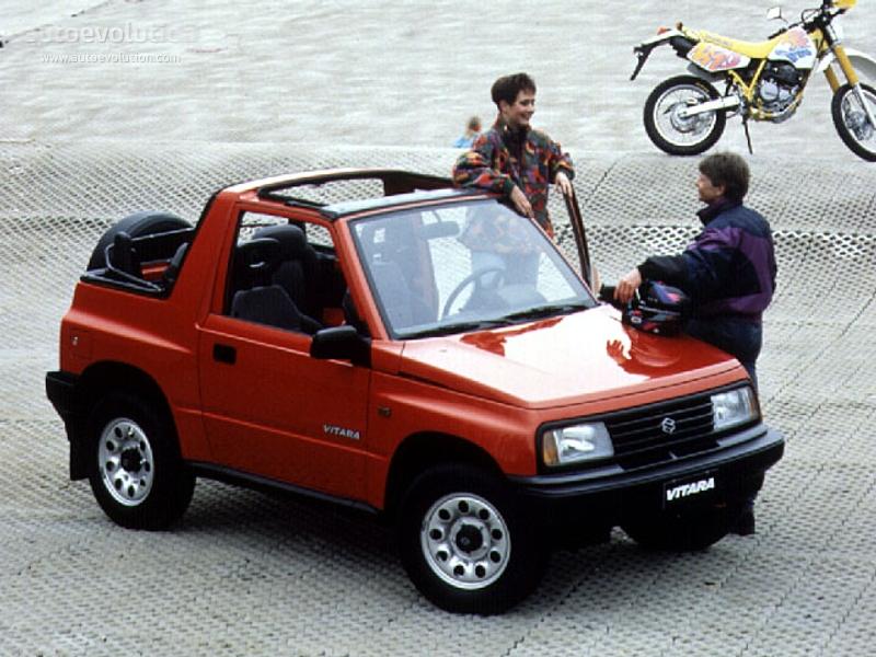 Suzuki Vitara Cabrio 1989 1990 1991 1992 1993 1994