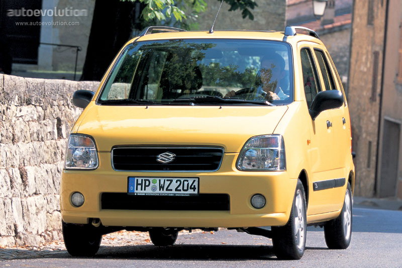 SUZUKI Wagon R specs & photos - 2003, 2004, 2005, 2006 ...