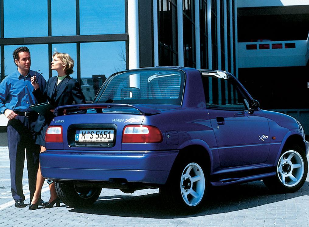 Suzuki X90 Specs 1996 1997 Autoevolution