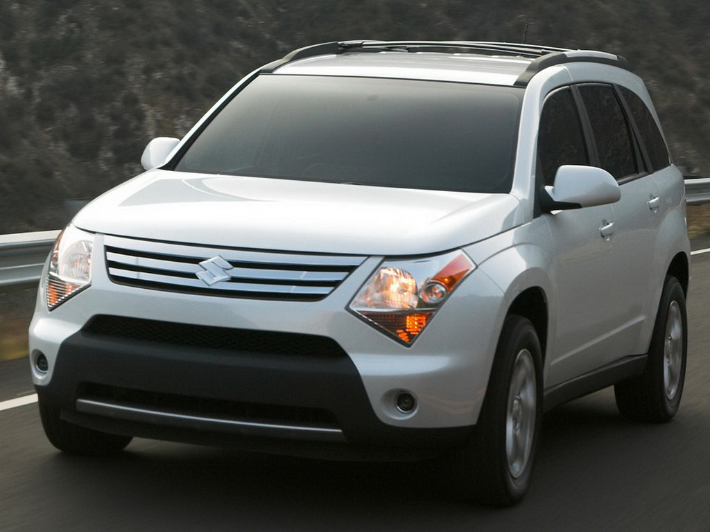 Ford Suv Models >> SUZUKI XL7 - 2007, 2008, 2009 - autoevolution
