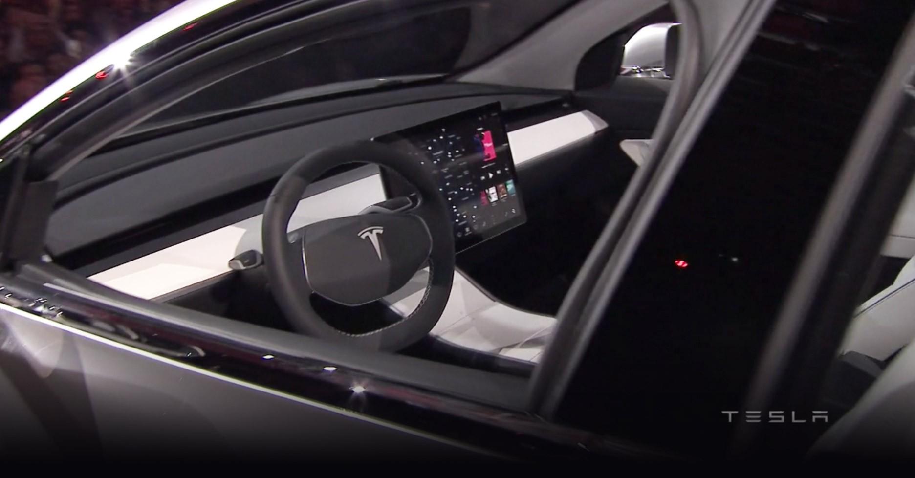 Tesla motors model 3 specs 2017 2018 autoevolution for Interior tesla model 3