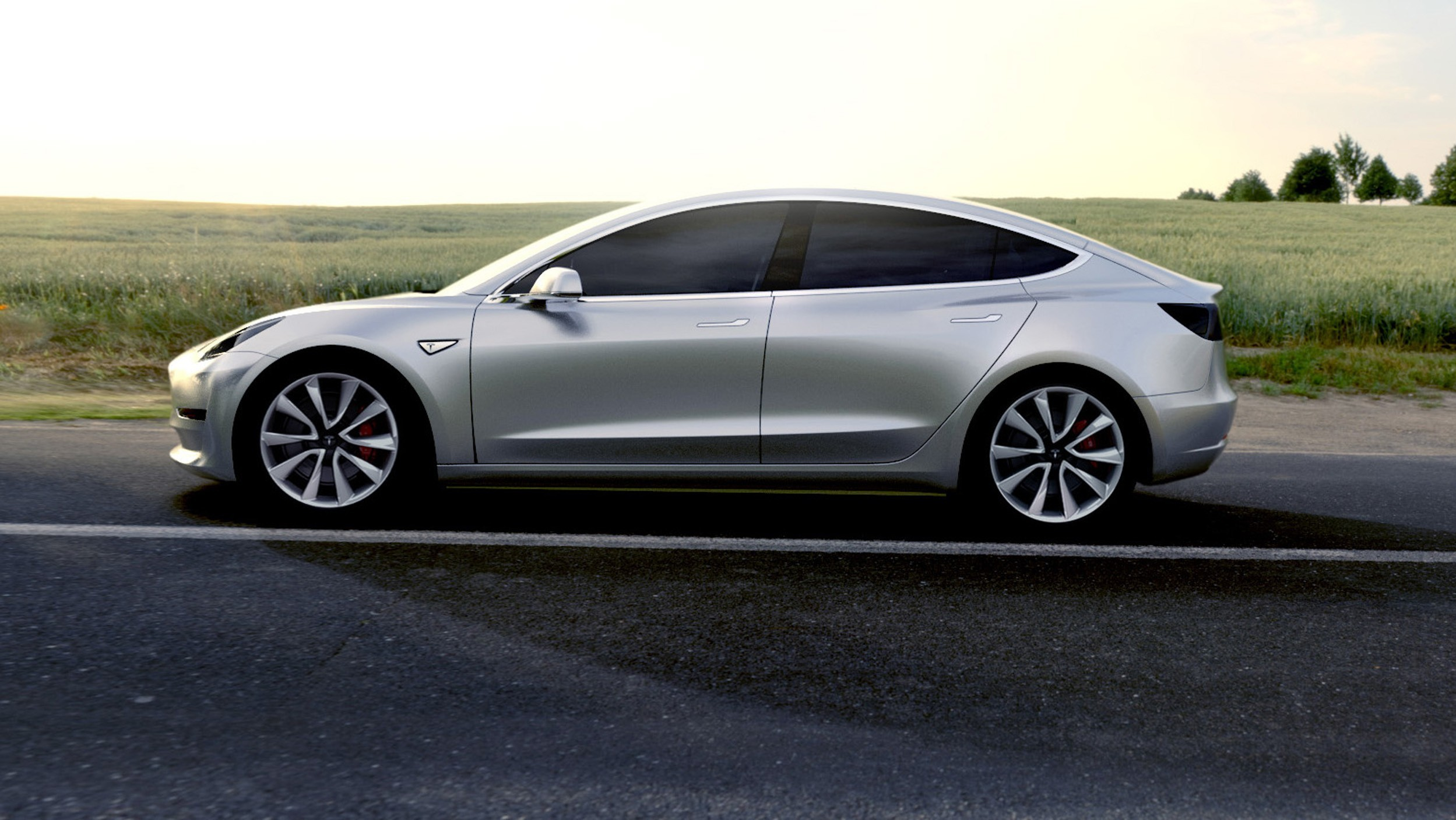 Tesla motors model 3 2017 autoevolution for Tesla motors car price