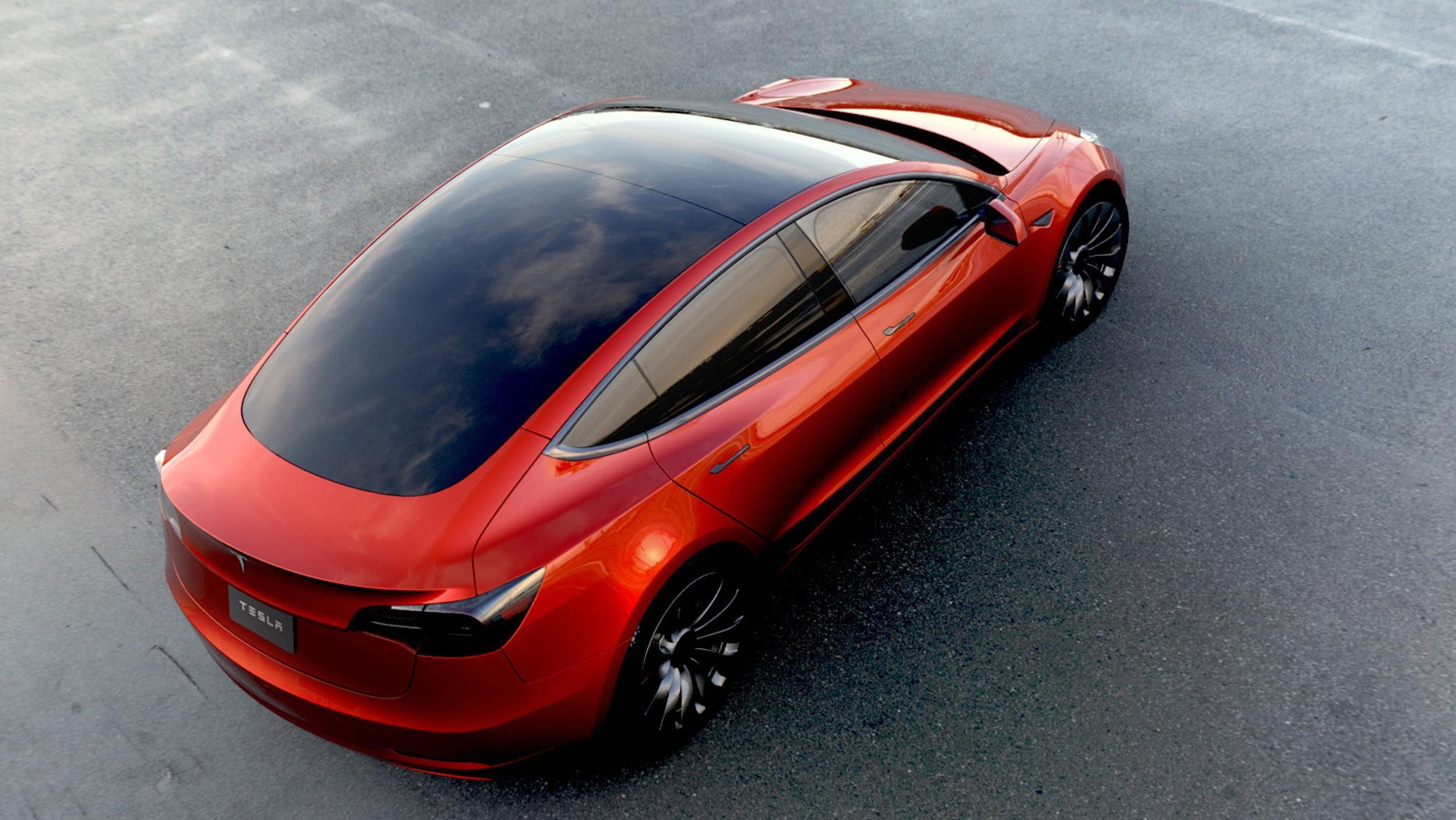 tesla motors model 3   2017   autoevolution