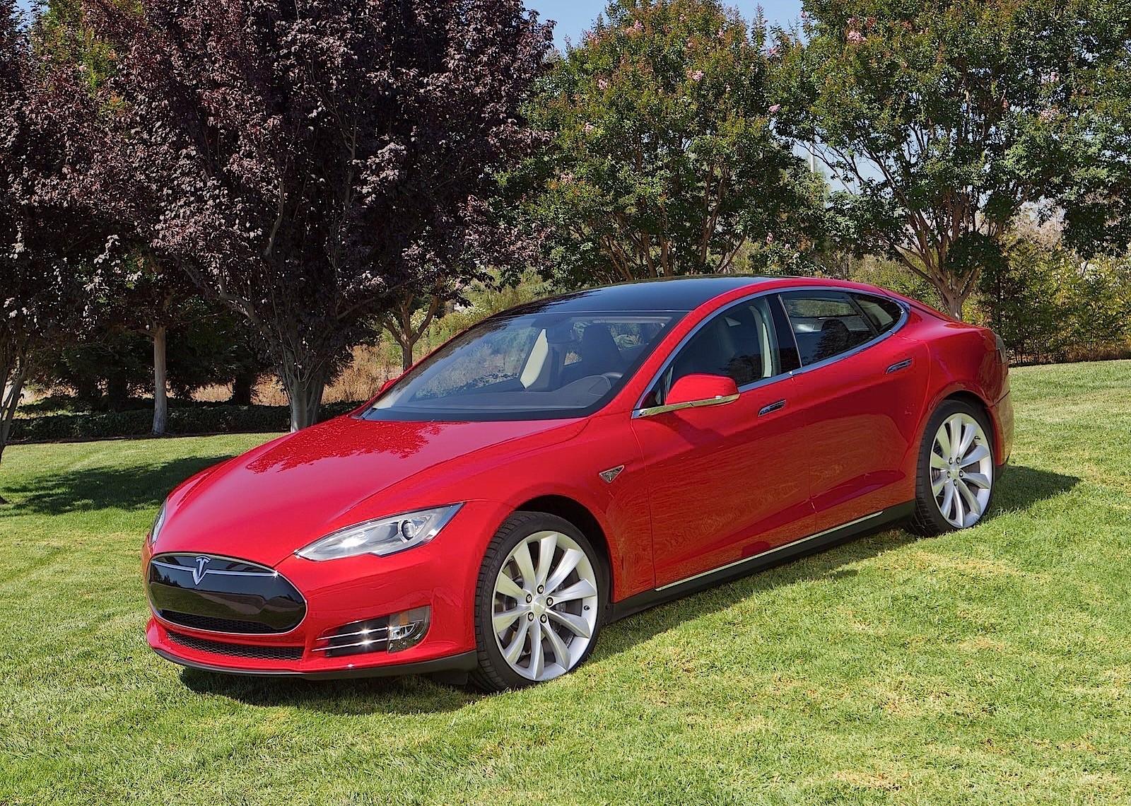 tesla motors engine cars autoevolution electric sedan vehicle