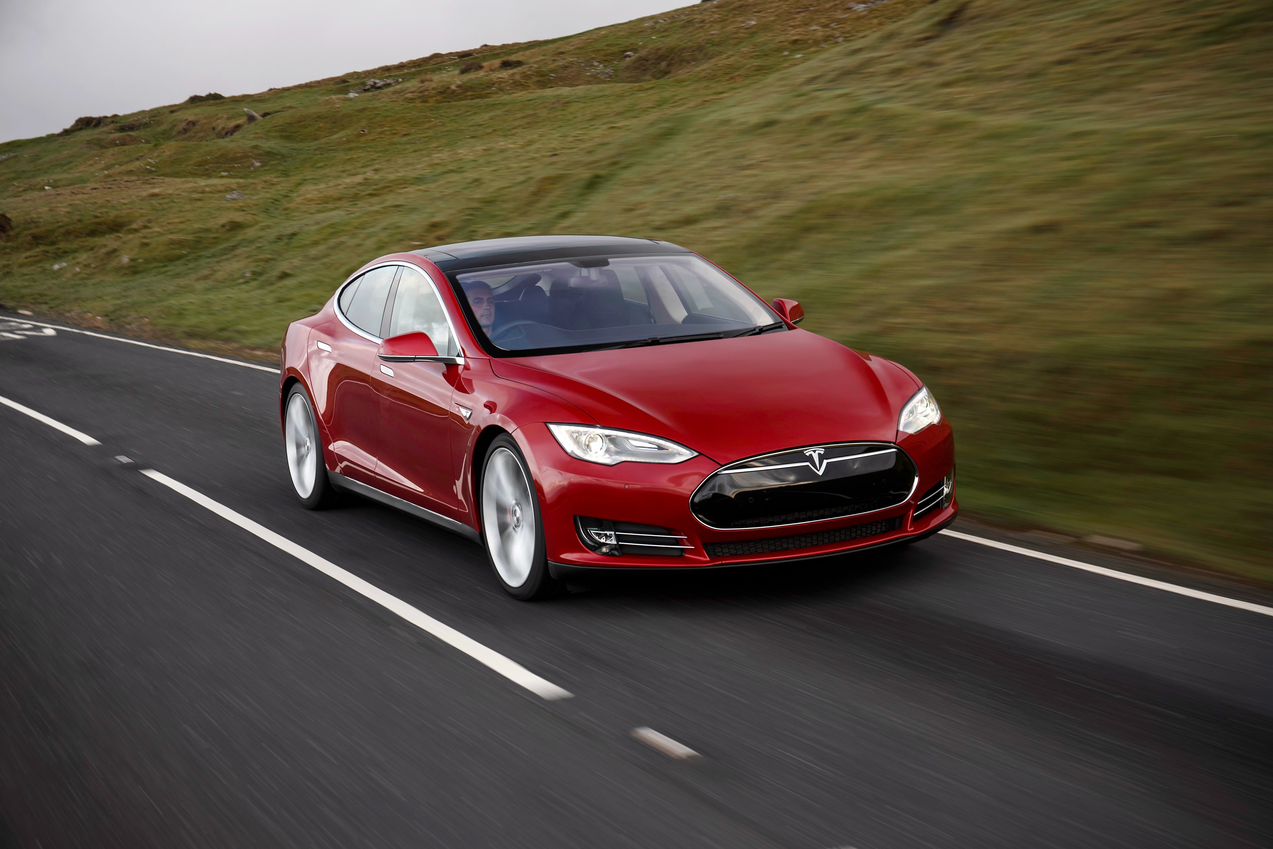 Tesla Model S Electric Motor