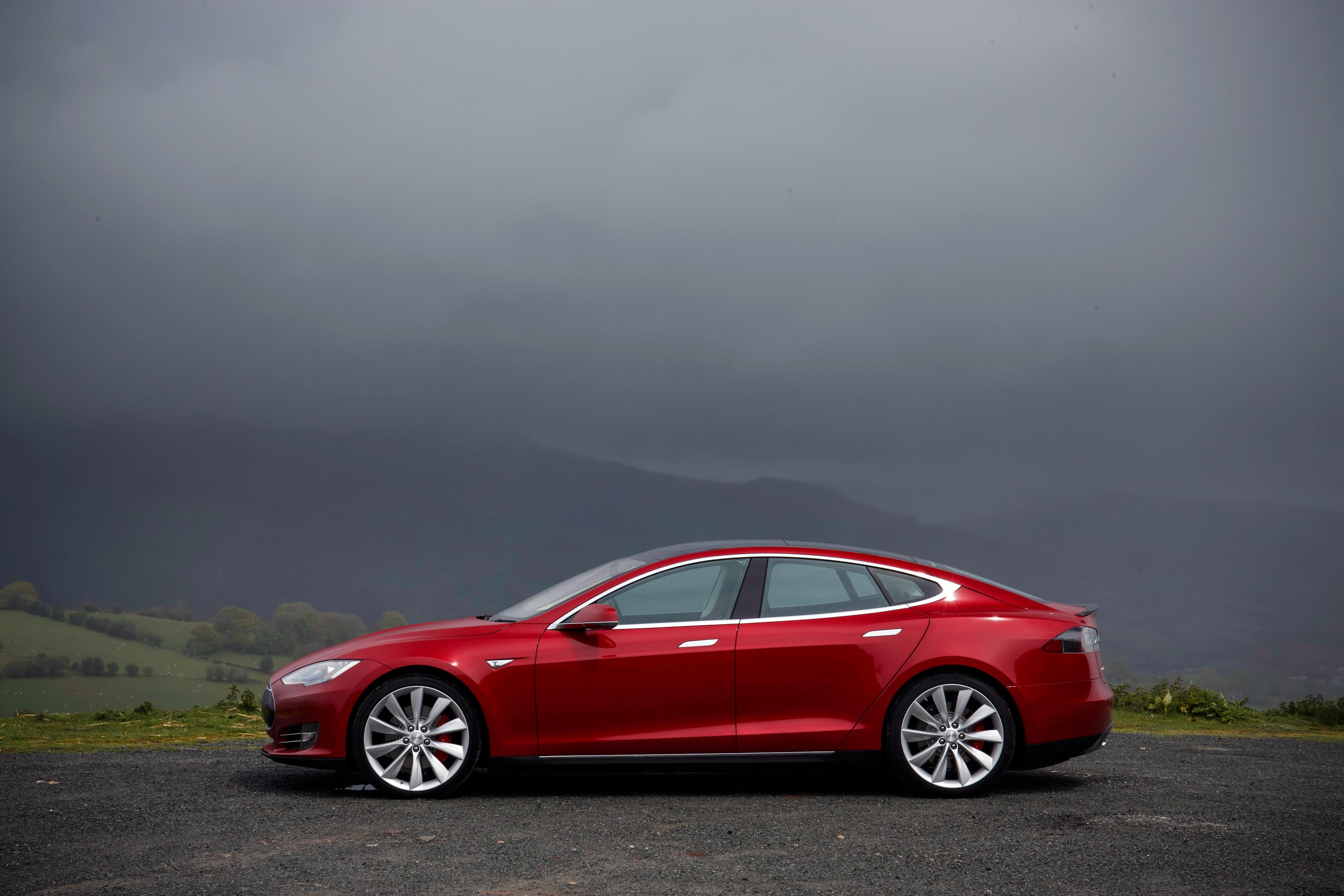 tesla motors cars autoevolution