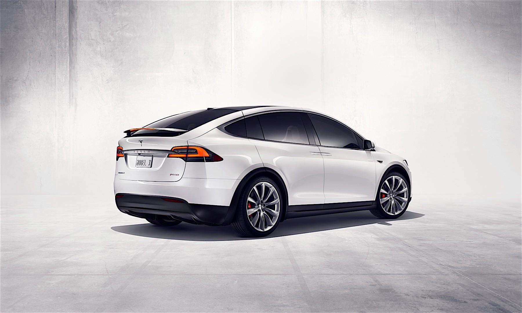 Tesla Motors Model X 2015 2016 Autoevolution